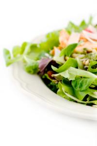 Peanut Chicken over Cucumber Salad | Anne's Health Place