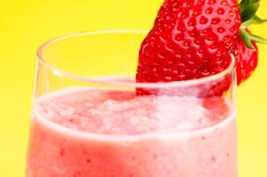 Refreshing Spring Strawberry Slushy | Anne's Health Place